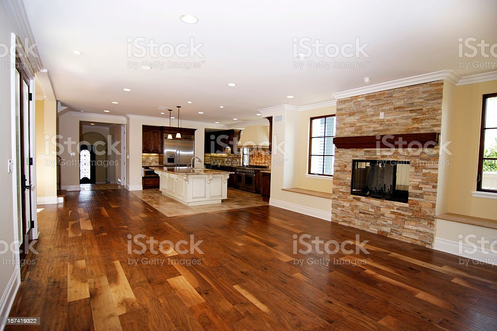 New Dining Kitchen Area stock photo