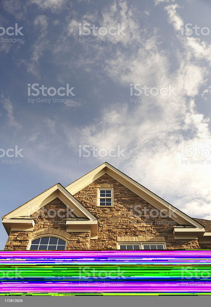 New Dining Room royalty-free stock photo