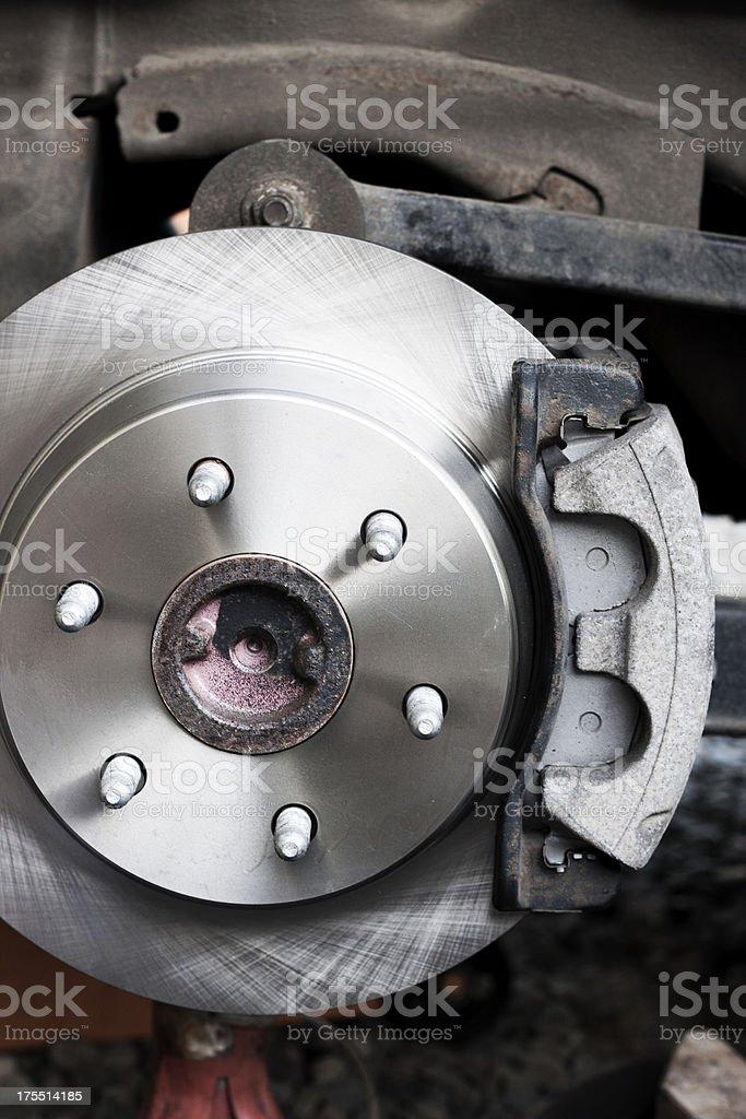 New Disk Brake Rotor stock photo