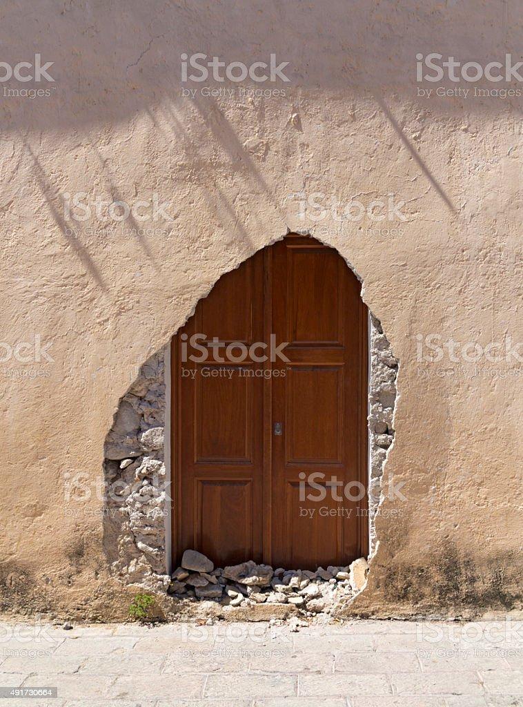 New door, Mexico stock photo