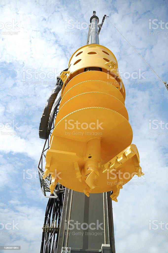 new drilling machine stock photo