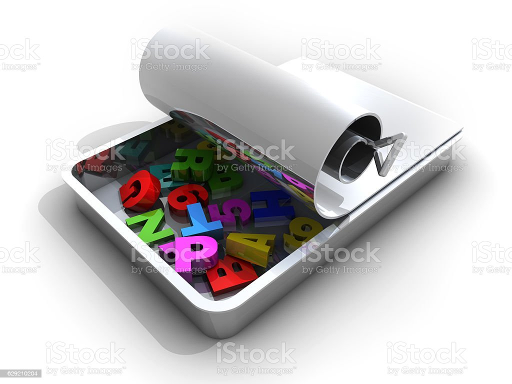 New Education Package stock photo