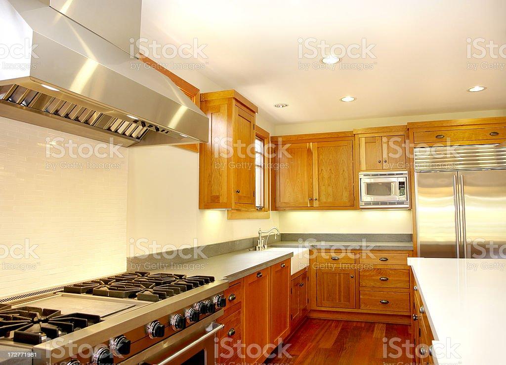 New Elegant Kitchen royalty-free stock photo