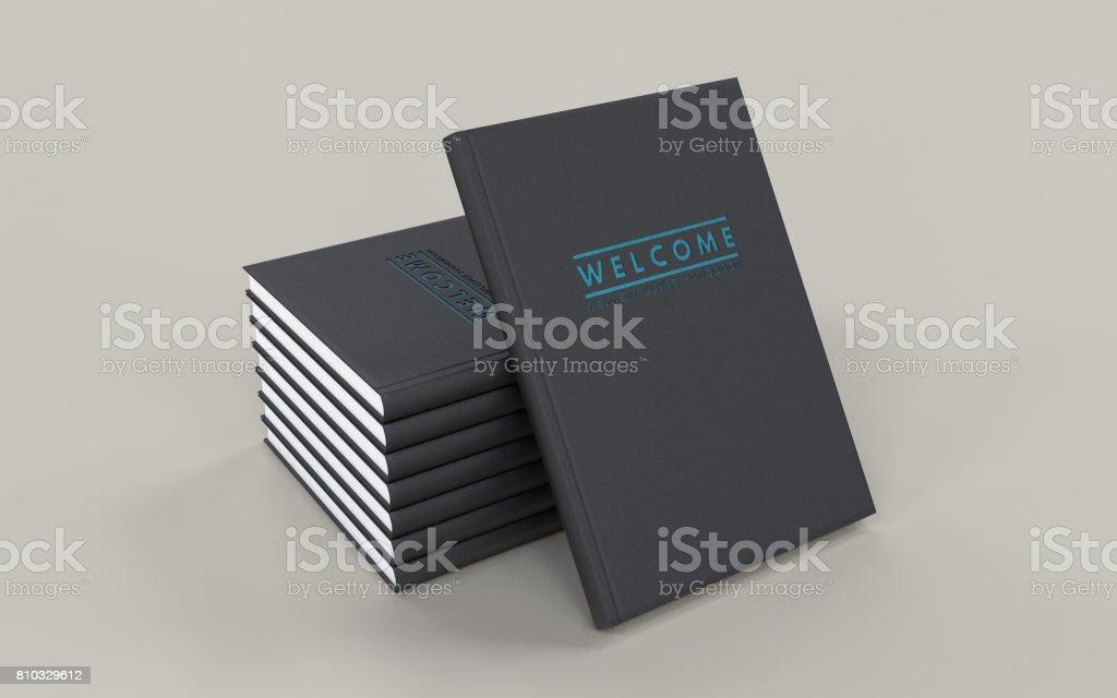 New Employee Handbook stock photo