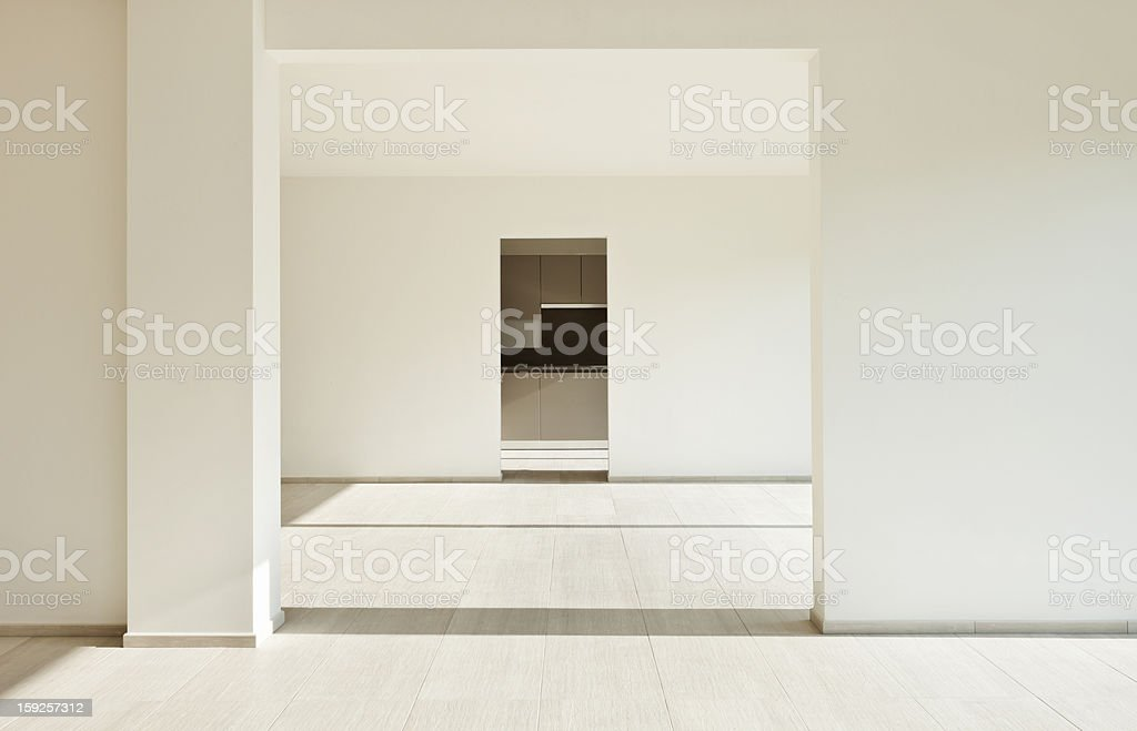 new empty apartment royalty-free stock photo