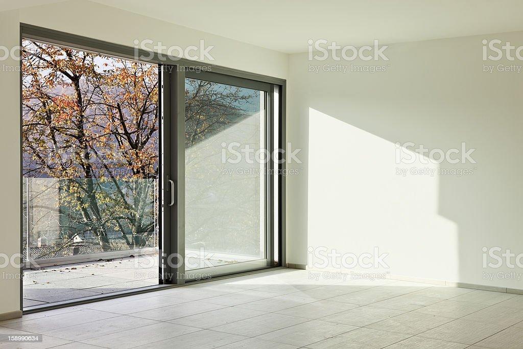 new empty apartment, room royalty-free stock photo