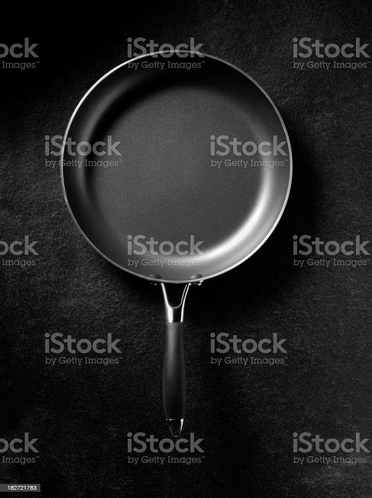 New Empty Frying Pan stock photo