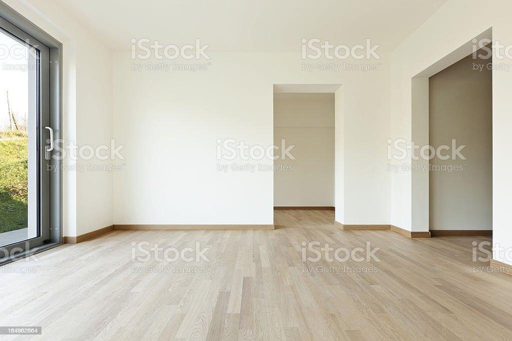 New empty house, room stock photo