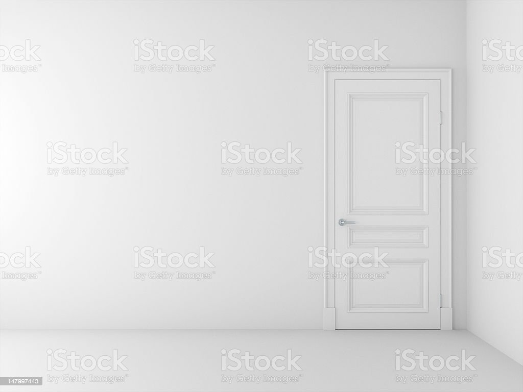 new empty room royalty-free stock photo