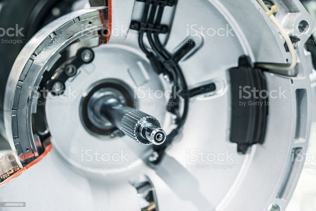 New energy,model,electricity,test,Energy saving,save stock photo