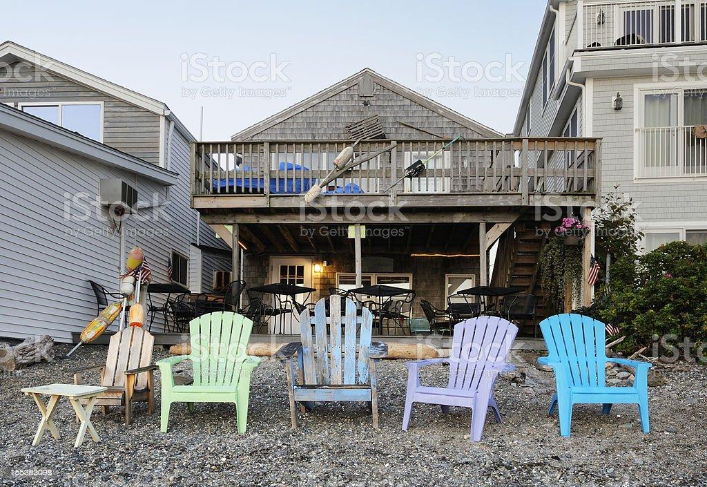 New England lifestyle stock photo
