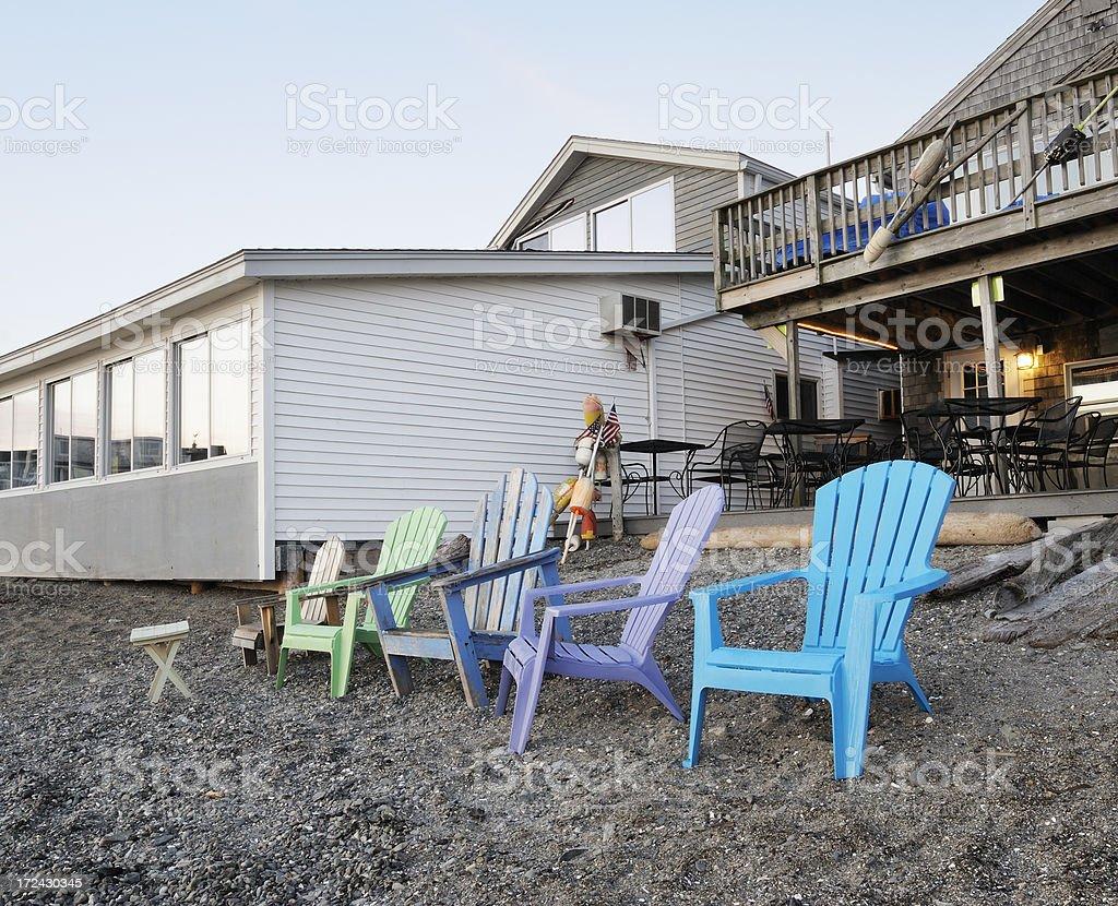 New England lifestyle royalty-free stock photo