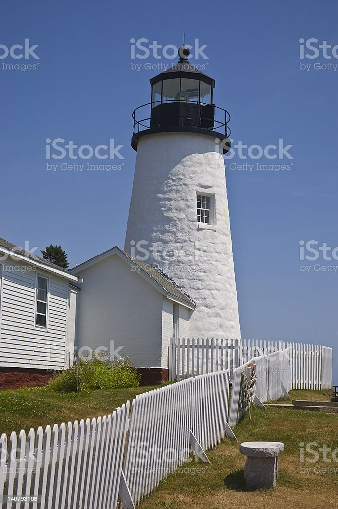 New England Lighthouse royalty-free stock photo