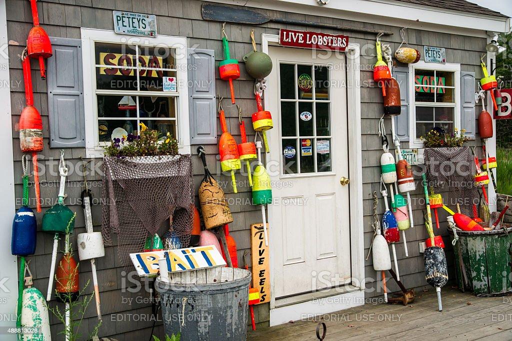 New England Lobster Pound stock photo