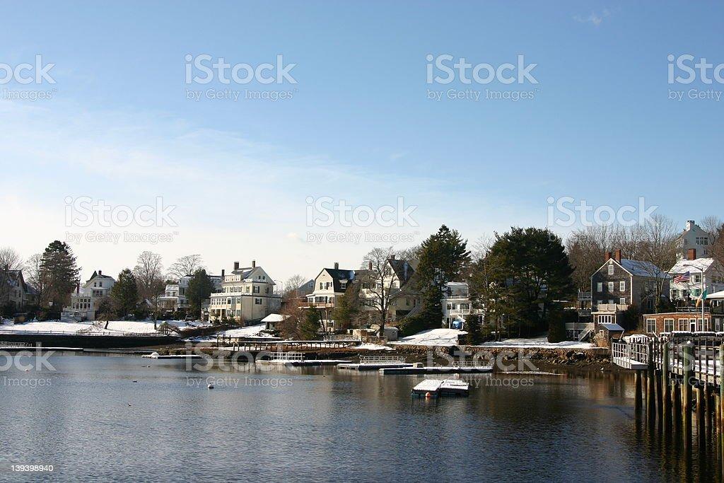 New England royalty-free stock photo