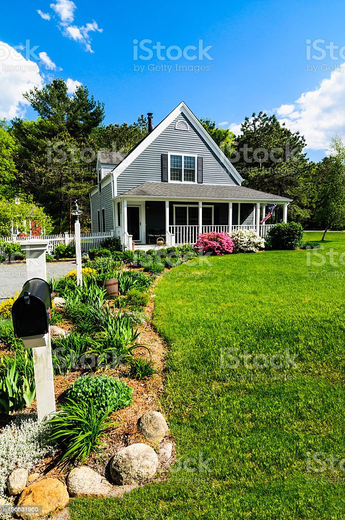 New England Spring stock photo