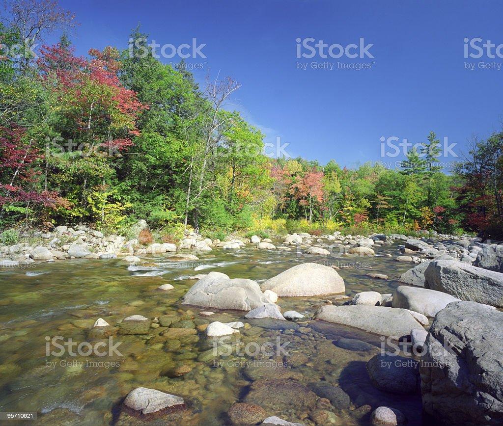 New England Stream royalty-free stock photo