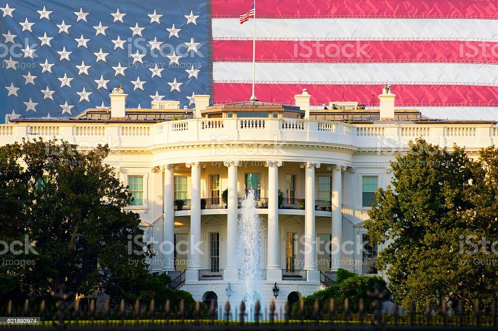 New Era Has Begun in Washington D.C., USA stock photo