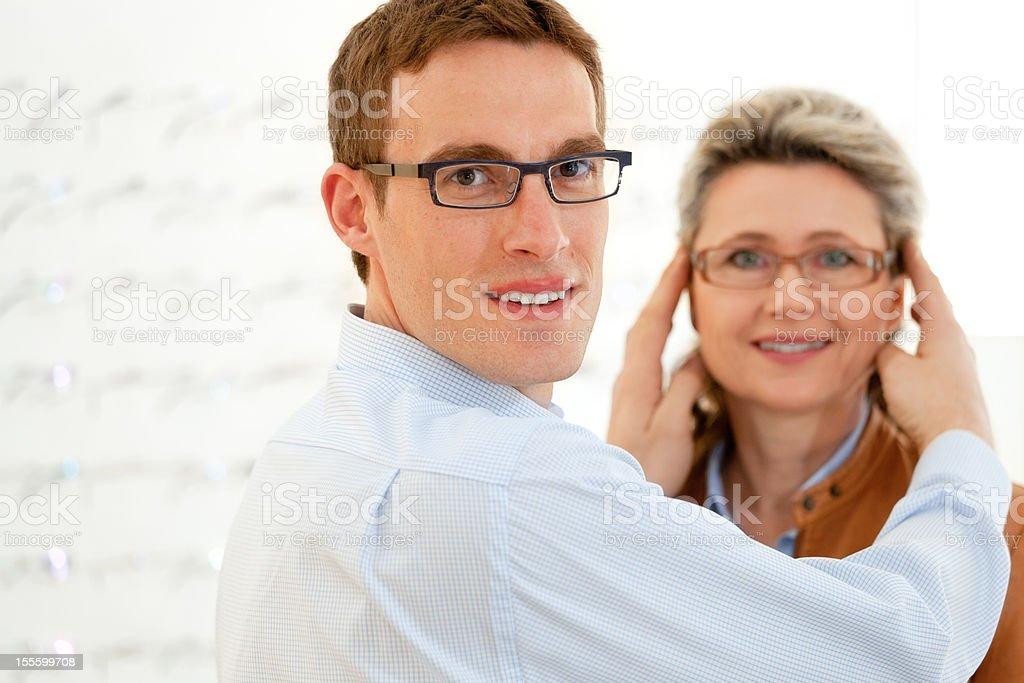 new eyeglasses royalty-free stock photo