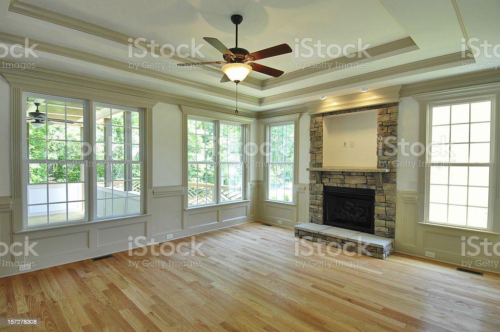 New Family Room royalty-free stock photo