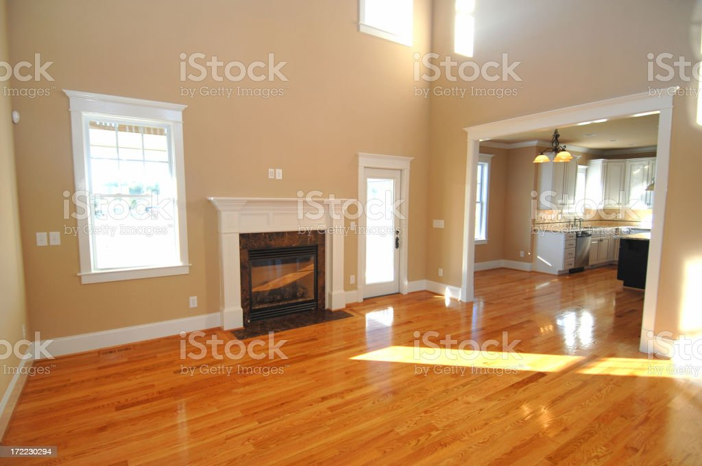 New Family Room royalty-free stock photo