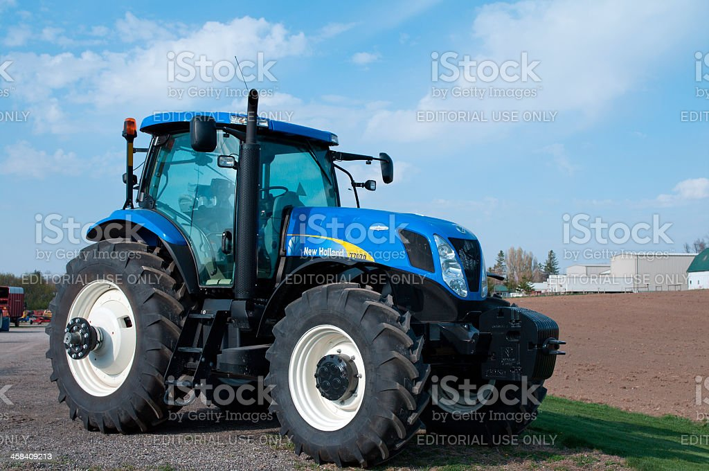 New Farm Tractor stock photo