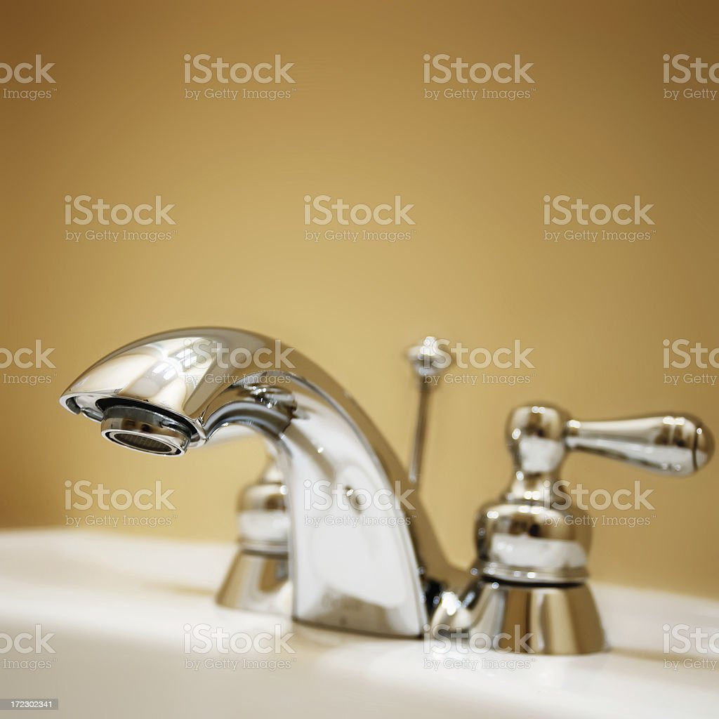 New Faucet royalty-free stock photo