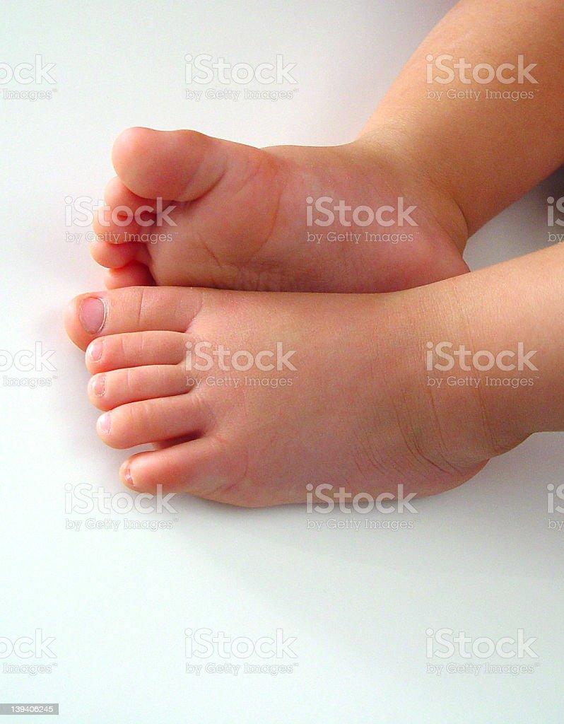 New Feet stock photo