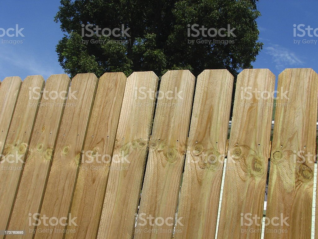 new fence3 royalty-free stock photo