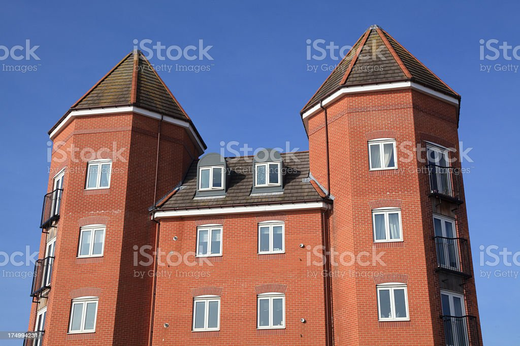 New Flats royalty-free stock photo