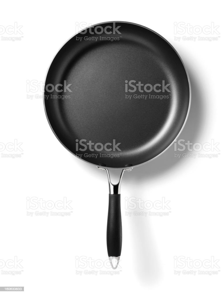 New Frying Pan royalty-free stock photo