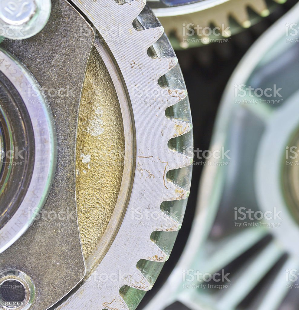 New gear of a car royalty-free stock photo