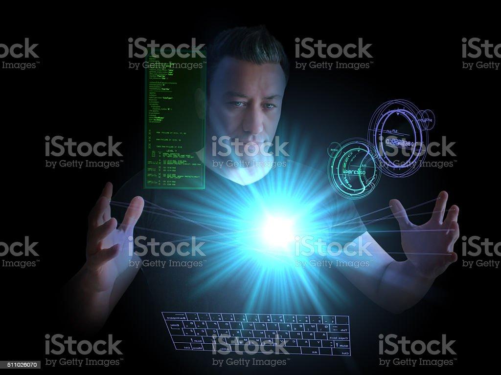 New Generation Energy Technology stock photo