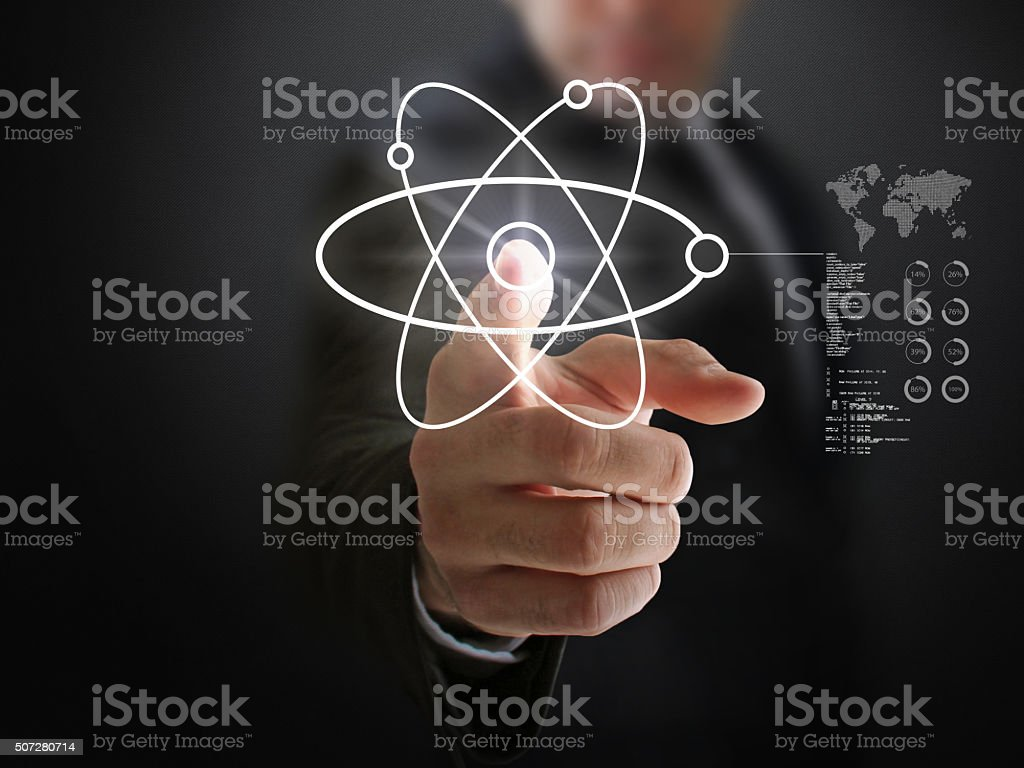 New Generation Fusion Technology and Higgs Boson stock photo