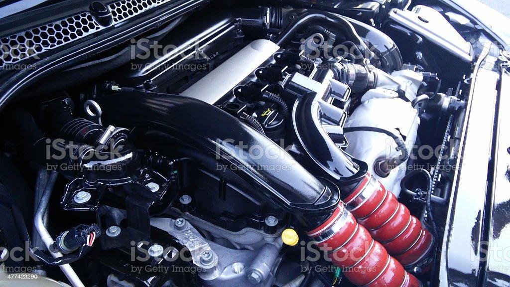New Generation Turbo Motor stock photo