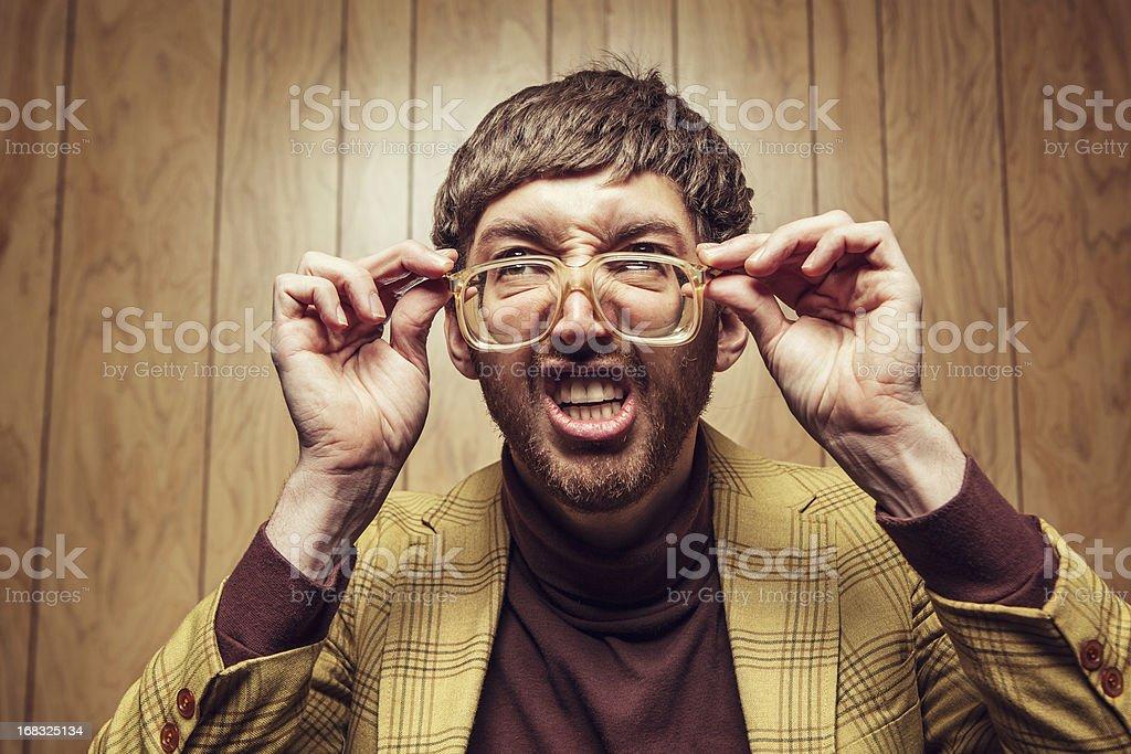 New Glasses stock photo