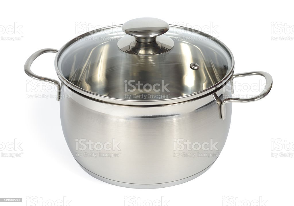 New Glossy Pan royalty-free stock photo
