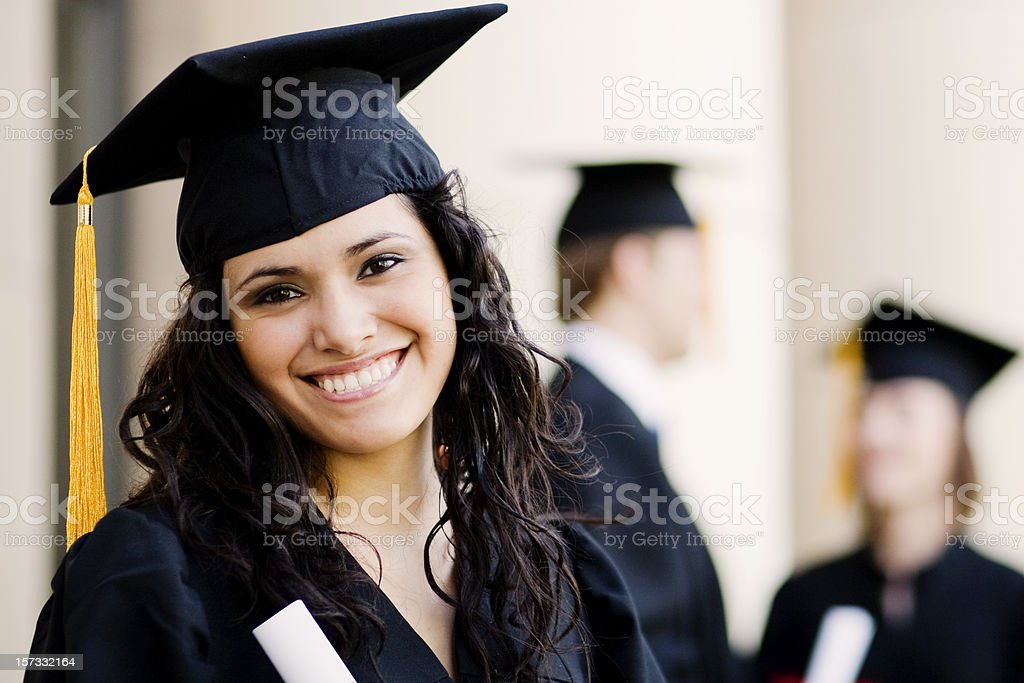New Graduate royalty-free stock photo
