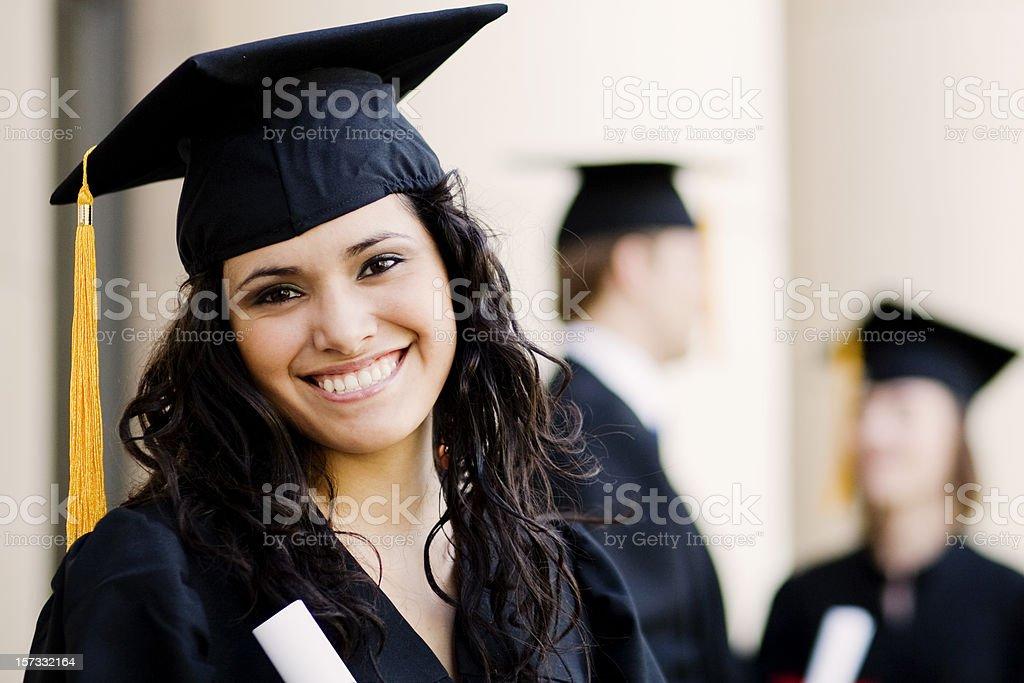 New Graduate stock photo