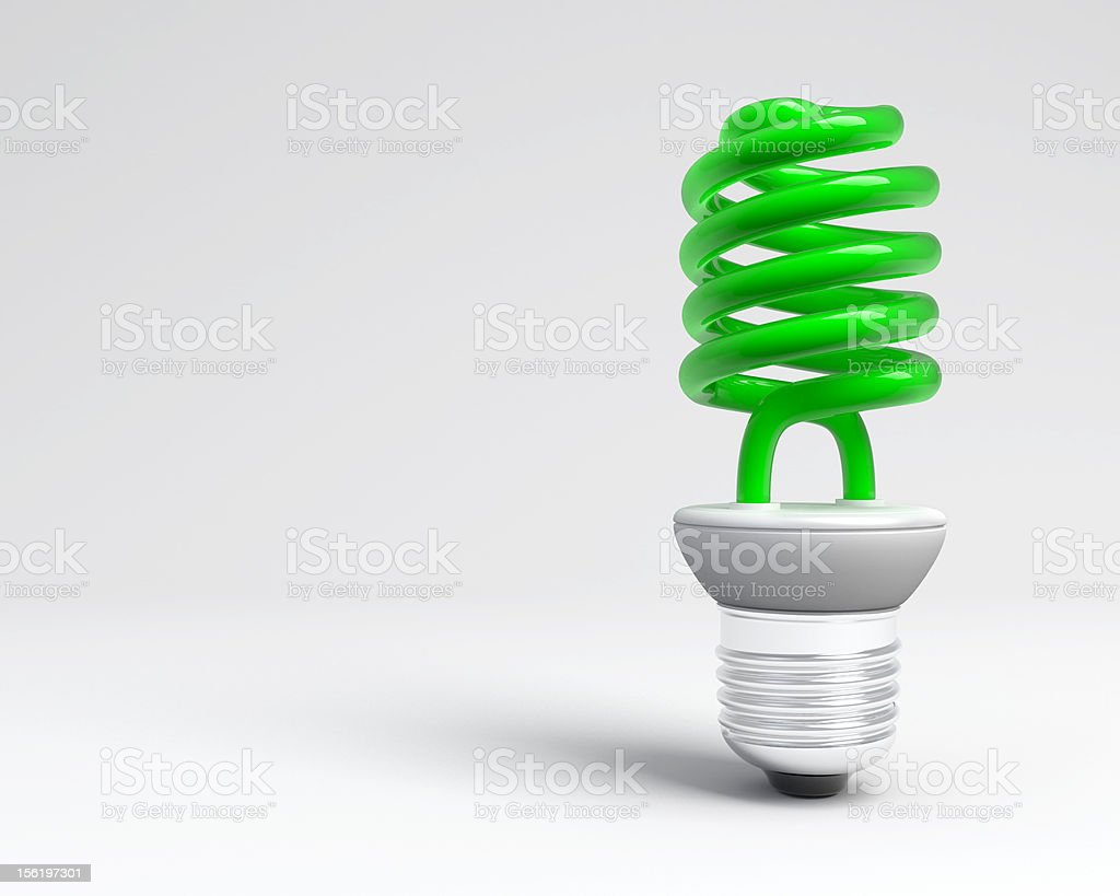 New green light stock photo