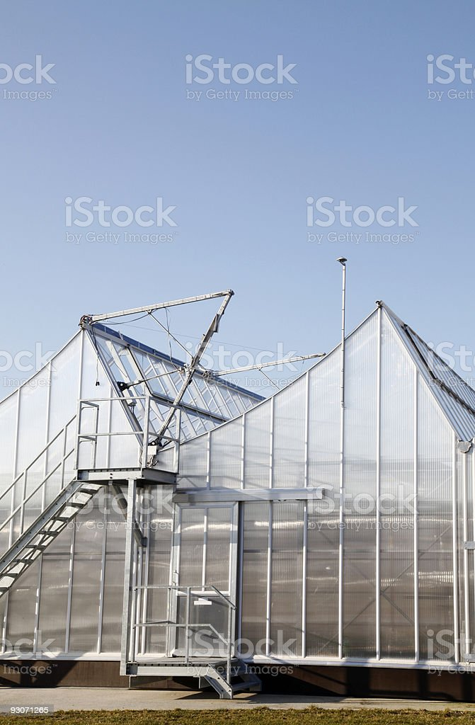 New Greenhouse royalty-free stock photo