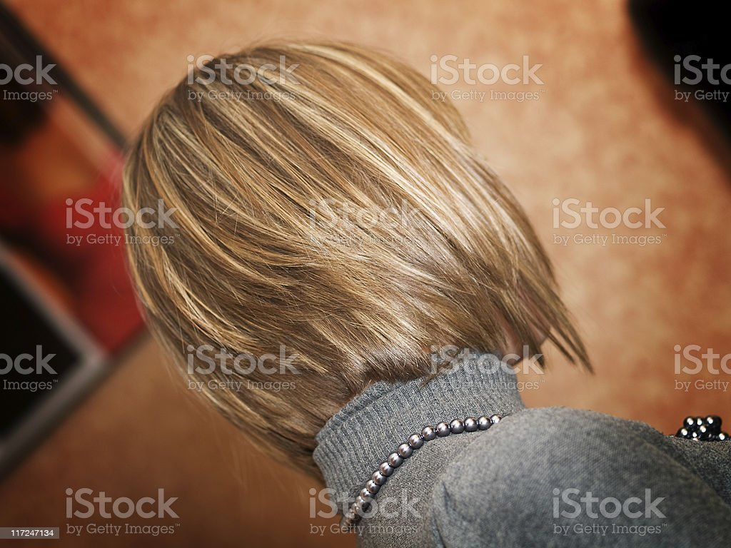 New hairstyle royalty-free stock photo