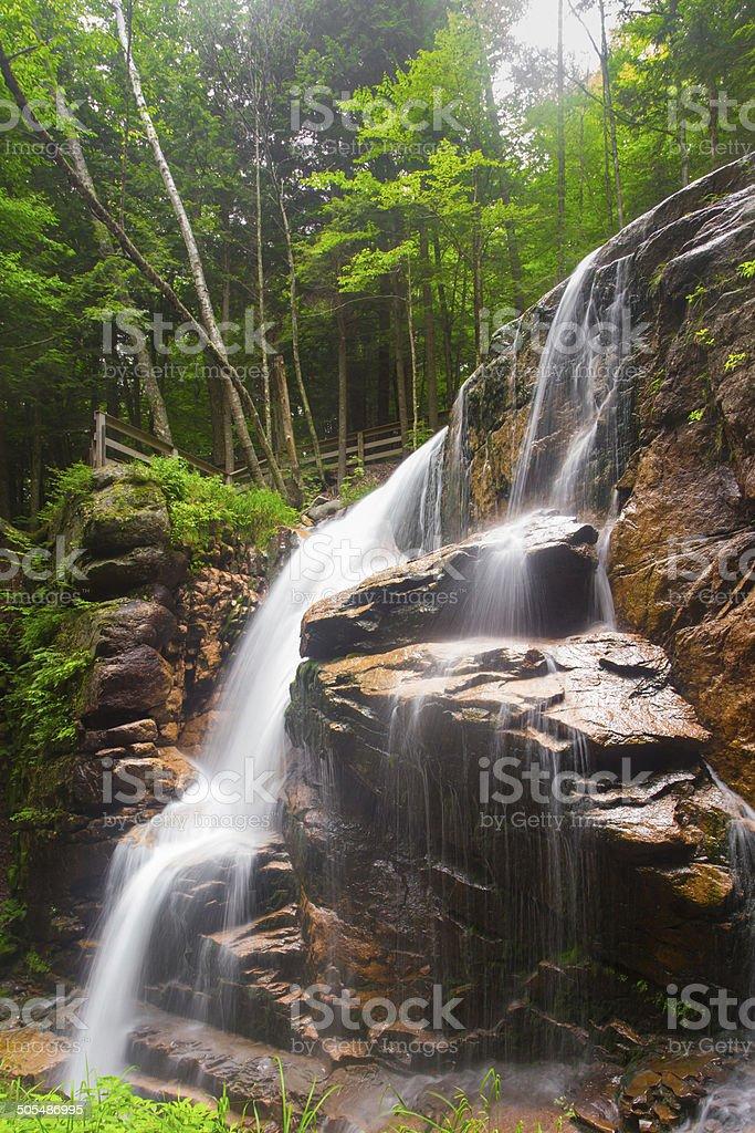 New Hampshire Waterfalls stock photo