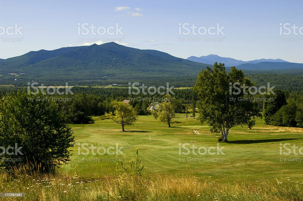 New Hampshire White Mountains stock photo