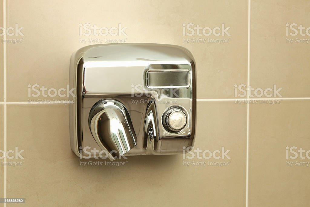 New Hand-dryer stock photo