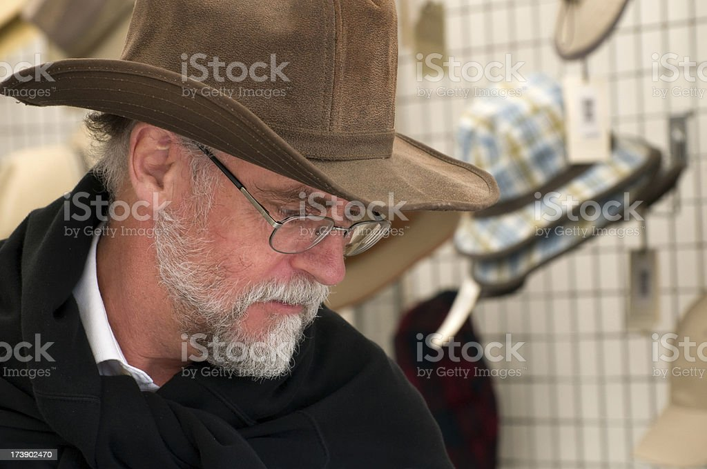 New hat. royalty-free stock photo