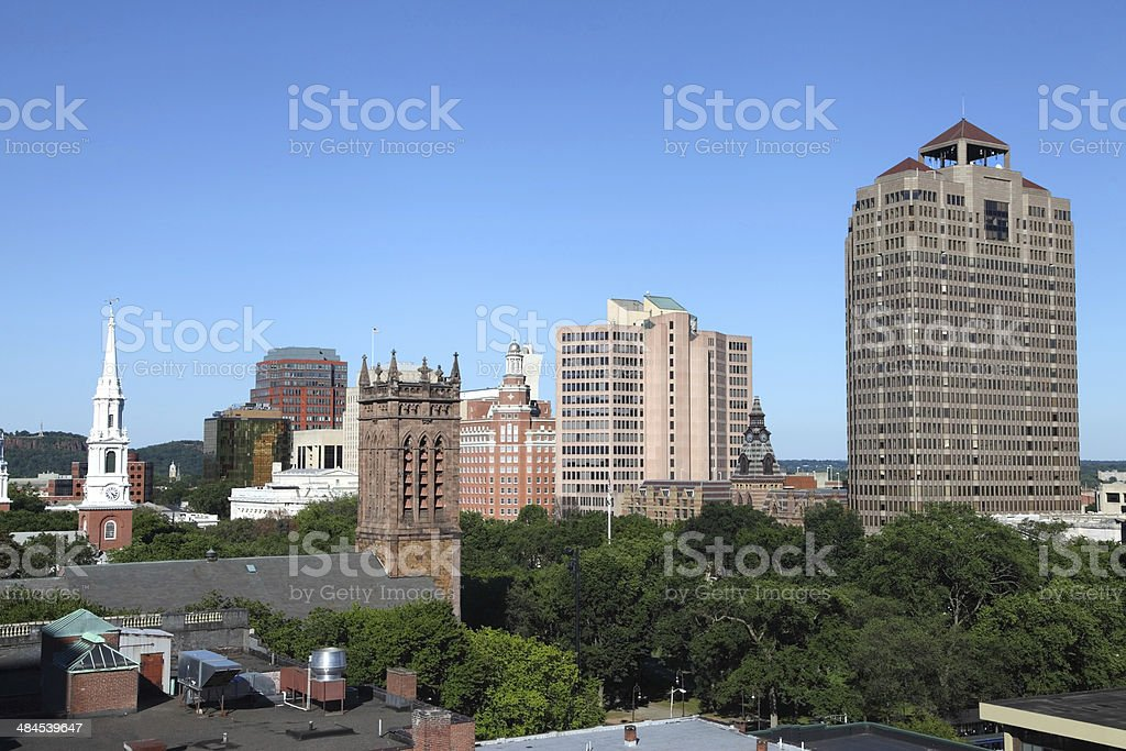 New Haven Connecticut stock photo