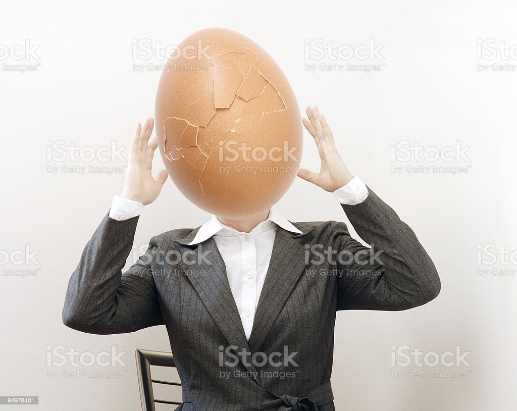 new head royalty-free stock photo