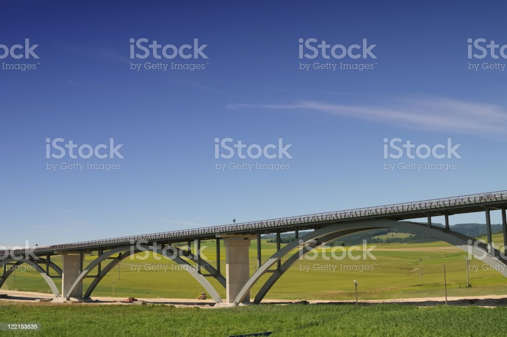 New highway royalty-free stock photo