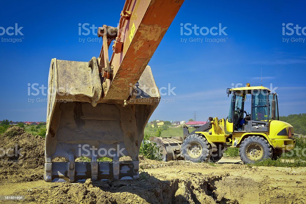 New Highway under construction royalty-free stock photo